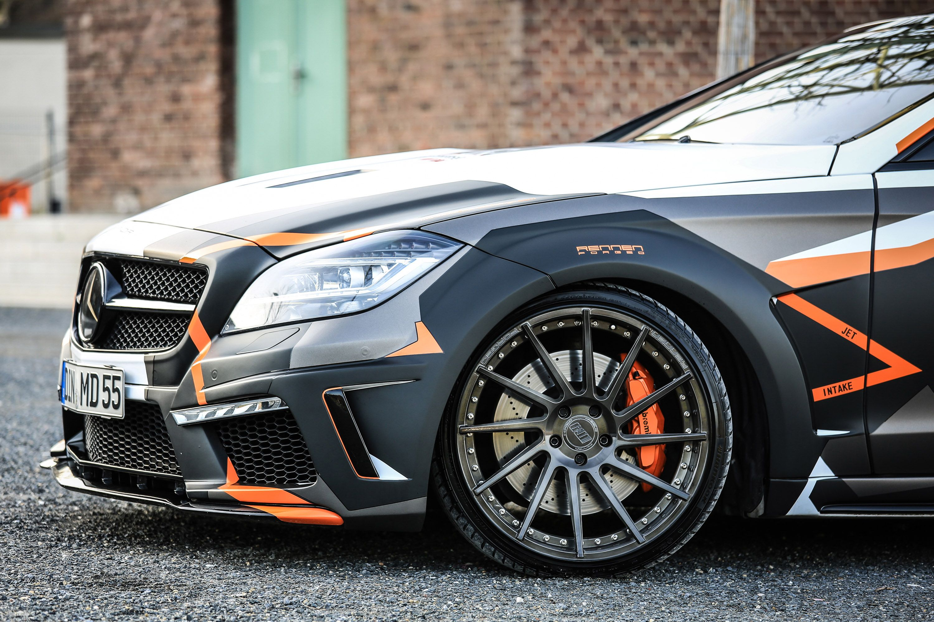 Mercedes Benz Cls500 W218 Black Edition Stealth By M D Exclusive