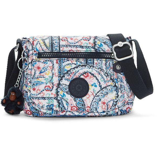 ff979831e4b Kipling Sabian Mini Bag (765 MXN) ❤ liked on Polyvore featuring bags,  handbags, lovely day print, pattern tote bag, miniature purse, kipling bags,  ...