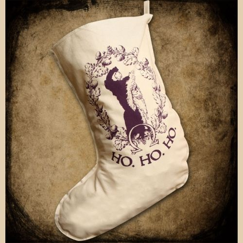 Hogswatch Stocking By Discworld Emporium Art Inspired By