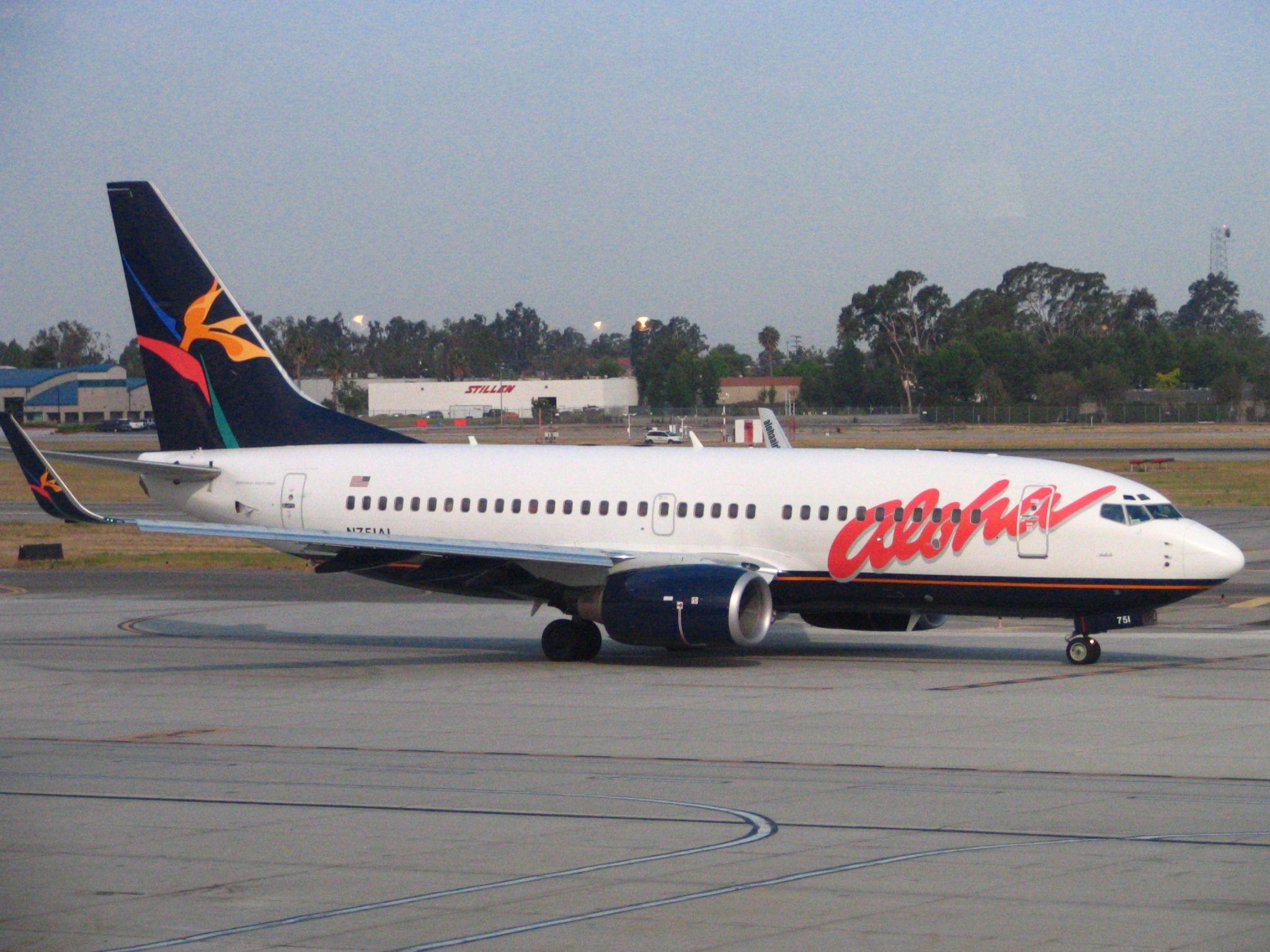 Aloha Airlines Hawaiian just hasn't been up to snuff