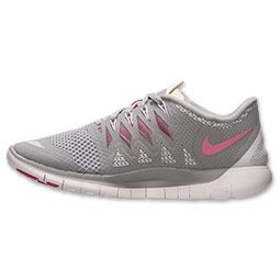 new style 98667 17b87 Nike Free 5.0 2014 Womens Wolf Grey Vivid Pink White 642199 ...