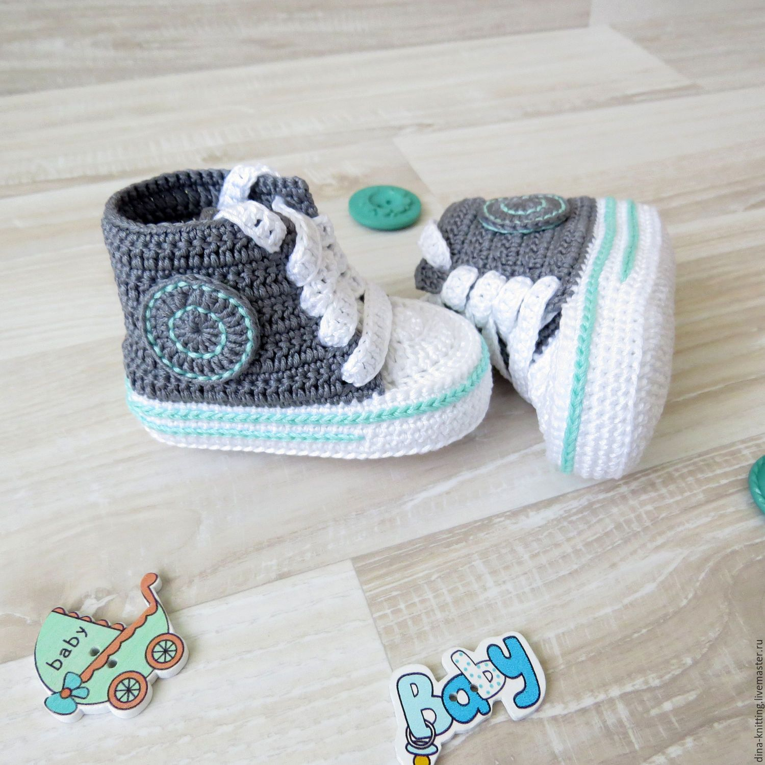Pin by Yroslava on Обувь | Pinterest | Baby booties, Crochet baby ...