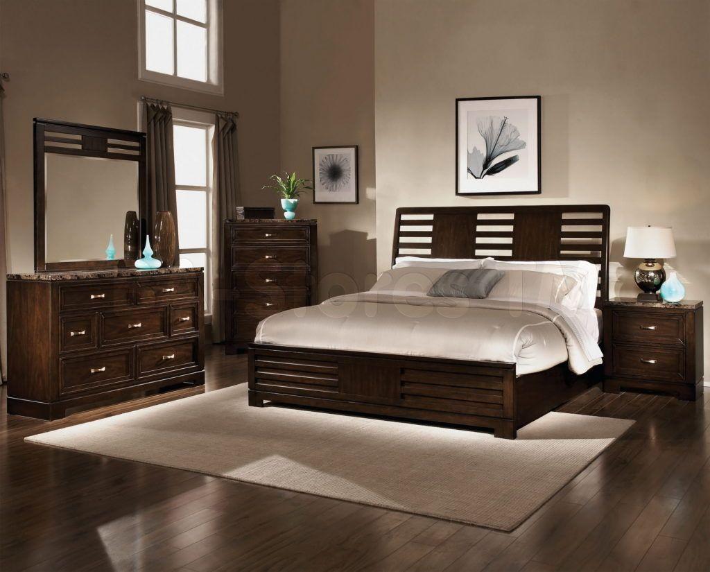 Dark Wood Bedroom Image Of Dark Furniture Bedroom At Modern Simple