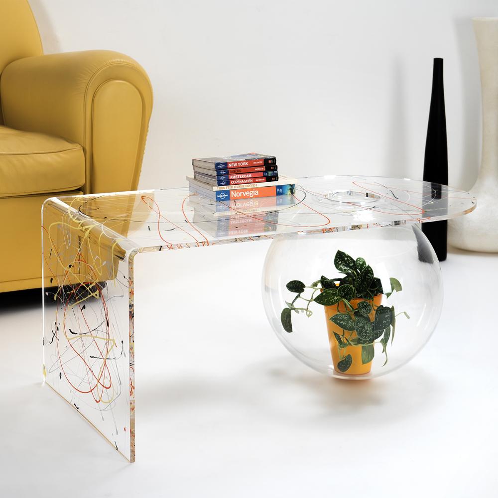 table basse boolla multicolore iplex