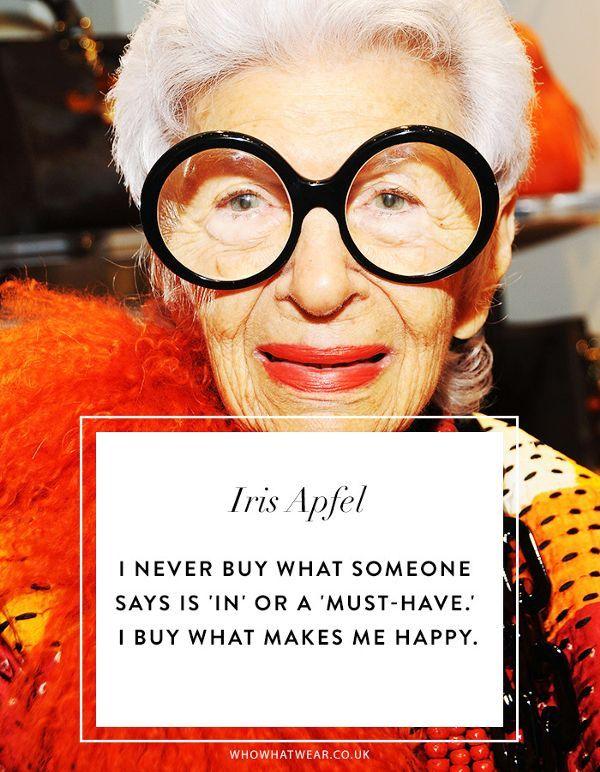 We're Taking Iris Apfel's Best Style Advice Into 2019