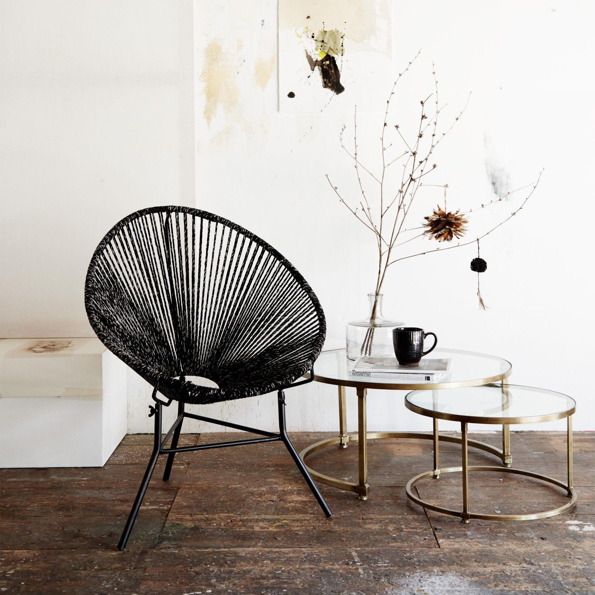 Nesting round glass coffee tables c o s y l i v i n g pinterest