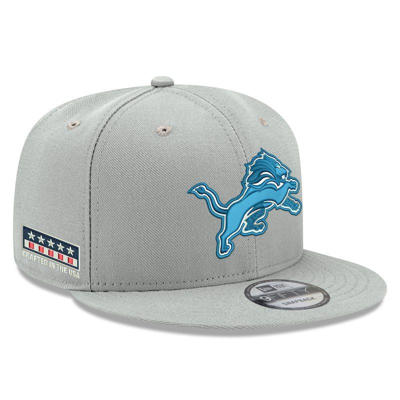 1dbfd402 Detroit Lions New Era Crafted in the USA 9FIFTY Adjustable Hat ...