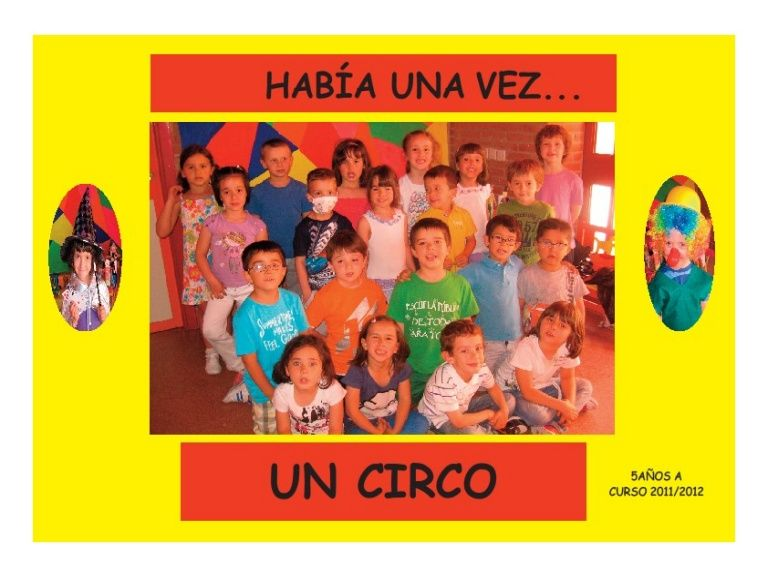 Proyecto El Circo De Arantxa 5 Anos A Proyectos Payasos