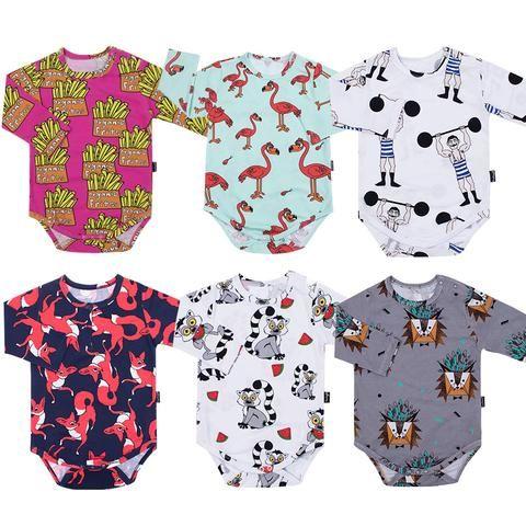 a5d7b78dff30f Alpaca Llama Bodysuit Baby Boys Girls Jumpsuit Baby Clothing Vestidos 2018  Summer Autumn Bobo Choses Tiny Cottons