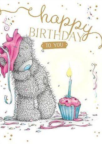 Tatty Teddy Tatty Teddy Happy Birthday Bear Happy Birthday Cards