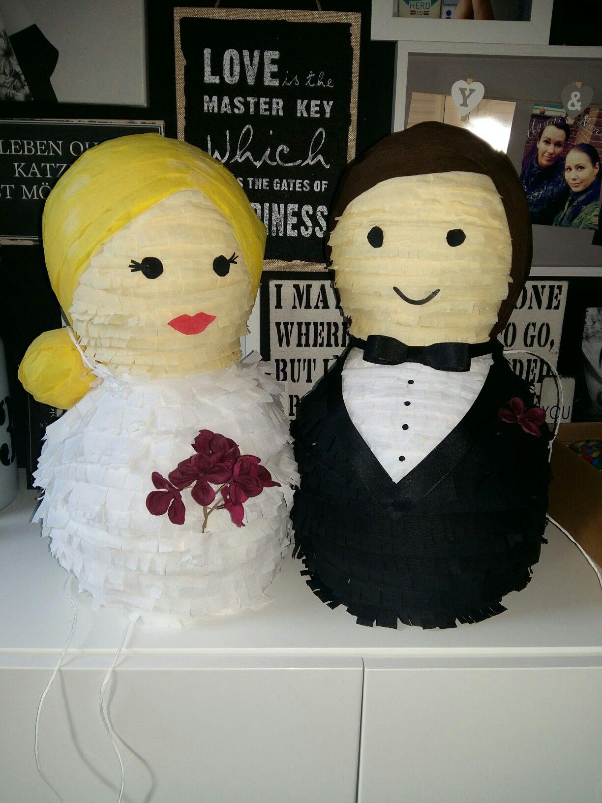 Pinata Brautpaar
