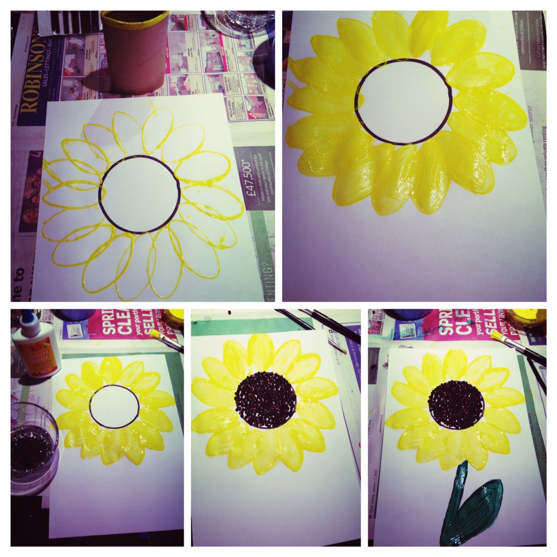 Sunflower Van Gogh Practical Activity For Ks1 Or Eyfs