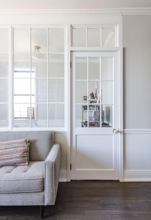 An Interior Wall Of Windows Brings Light To This Guest Alcove