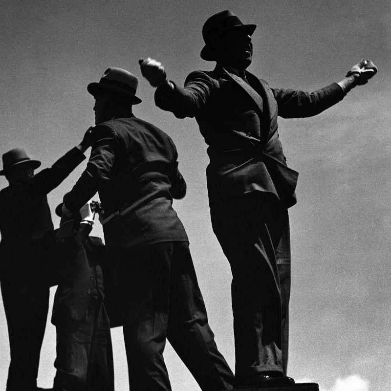 TIC-TAC MEN AT ASCOT RACES, 1935 BRANDT, BILL (1904-1983)