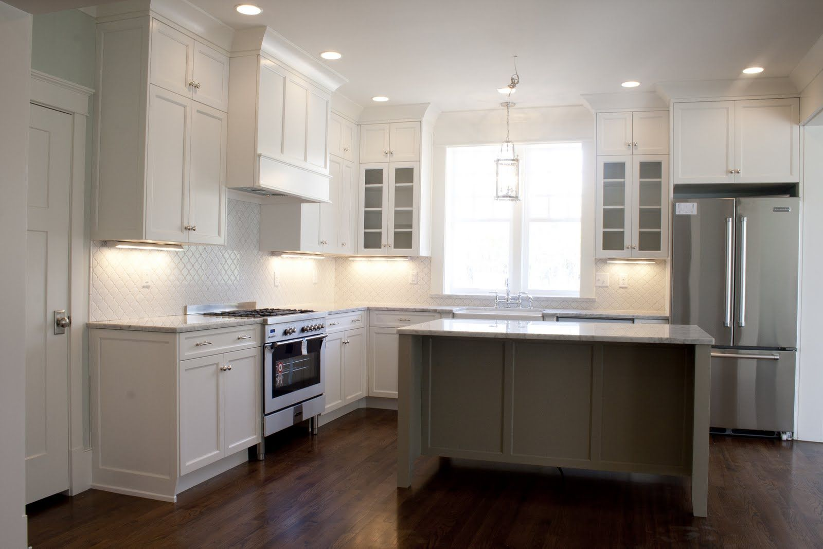 Best Loving The White Kitchen Tiek Built Homes Cabinets Is Bm 400 x 300