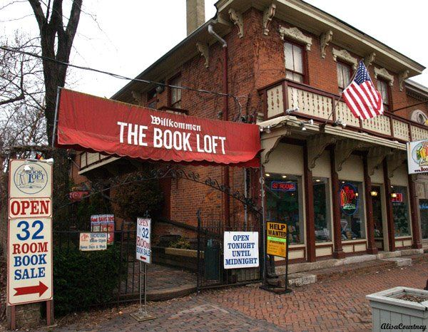 The Book Loft in the German Village area of Columbus, Ohio