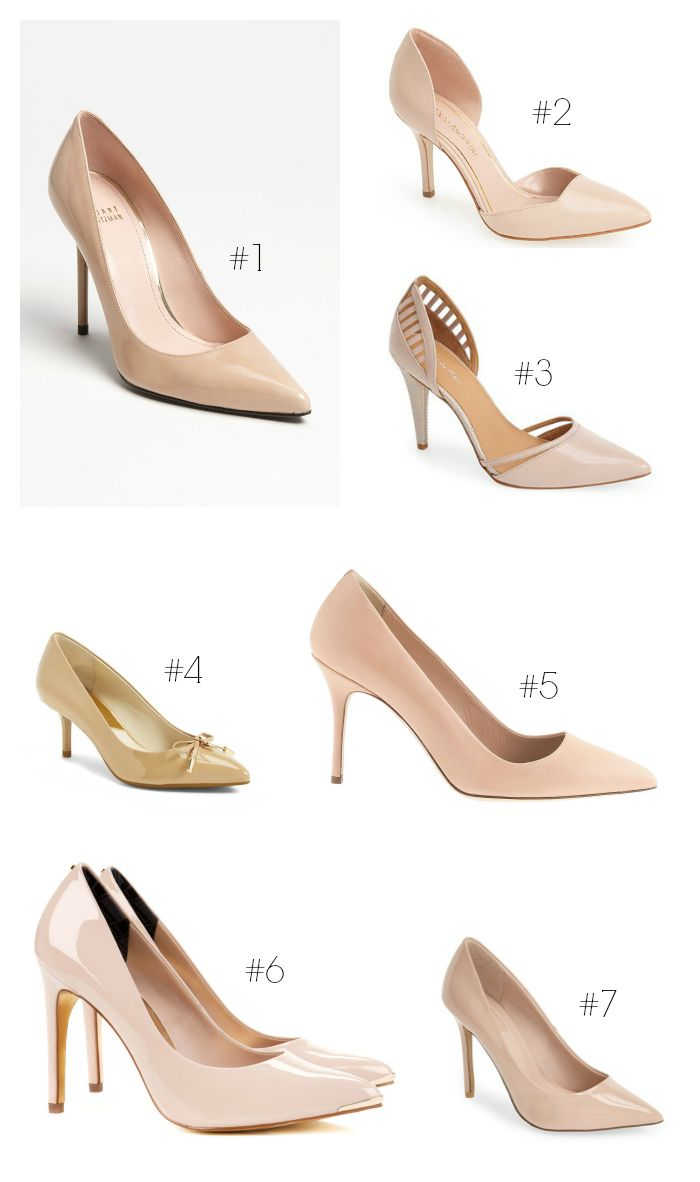 The Best Nude Pumps for Spring | Work heels, Nude and Nude pumps