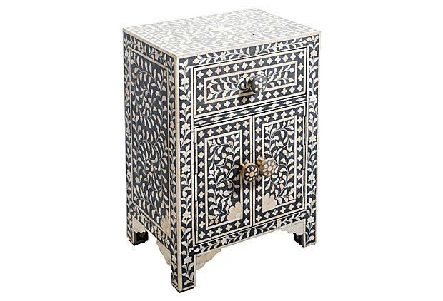 Briony Inlay Side Table On OneKingsLane.com
