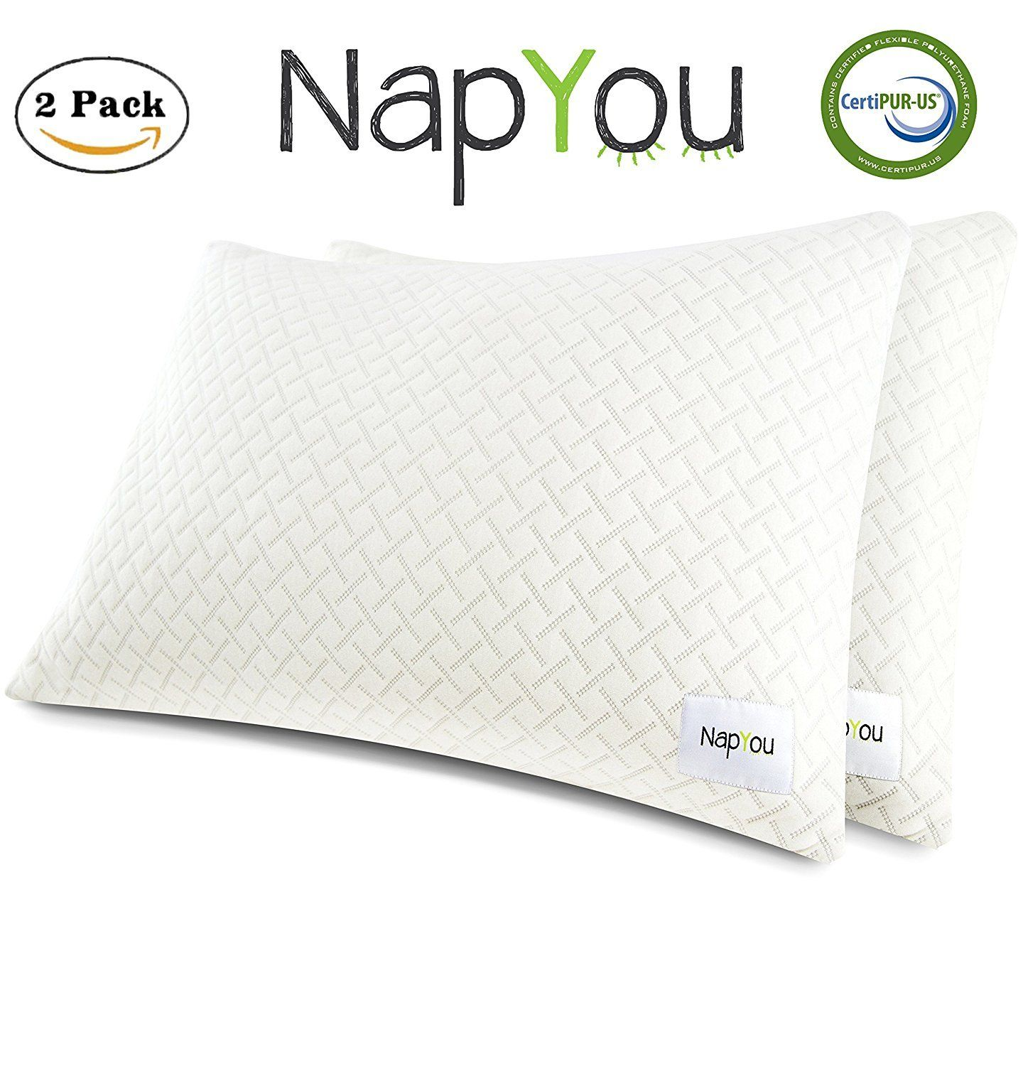 Napyou official amazon exclusive pack shredded certipur memory