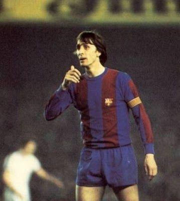 Johan Cruyff,el Maestro.Como entrenador culé,hay un antes y un después.