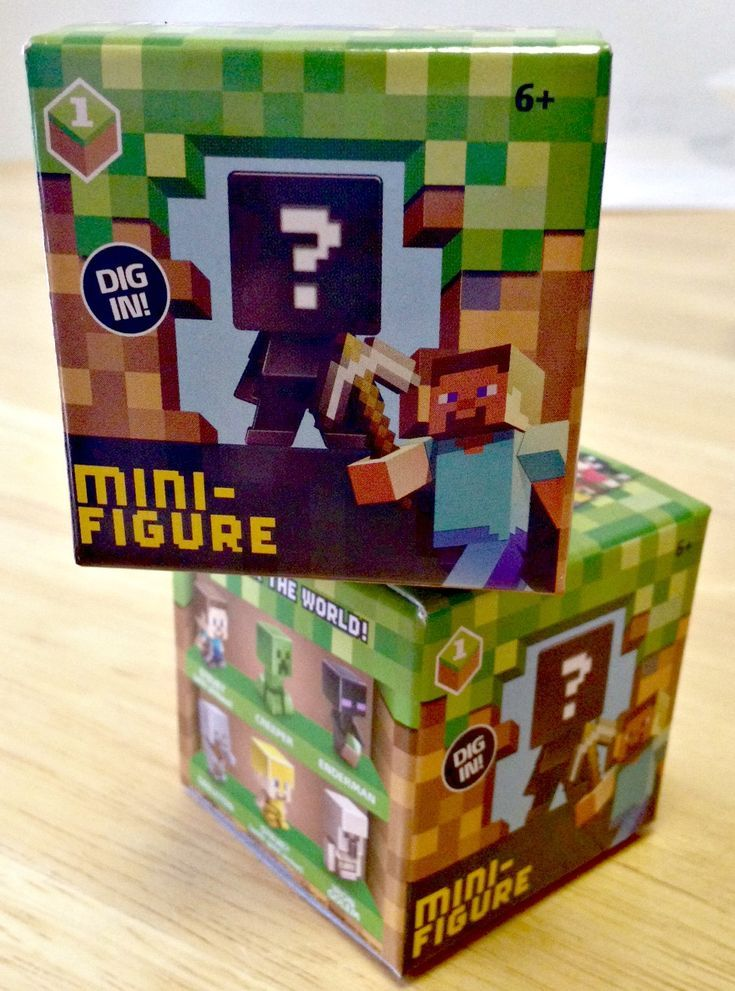 Cracking the code for the minecraft minifigures blind box