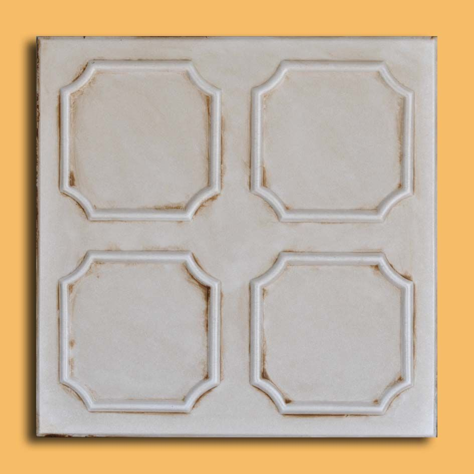20x20 Alfa Aged Ivory Foam Ceiling Tiles Home Pinterest
