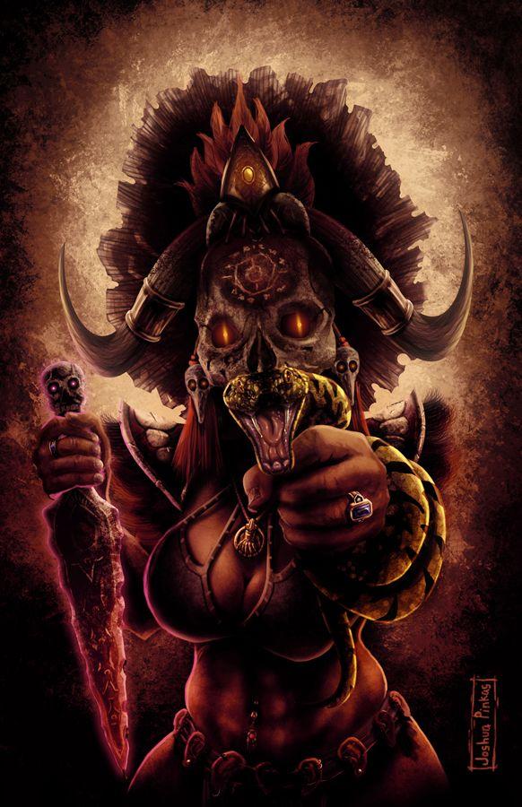 Female Witch Doctor By Truepinkas On Deviantart Fantasy Witch Witch Doctor Art Watch
