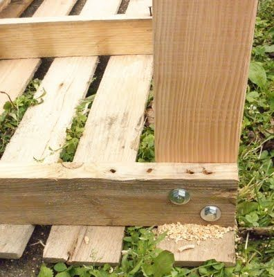 Incredible Attaching Legs To Pallet To Make Outdoor Table Diy Cjindustries Chair Design For Home Cjindustriesco
