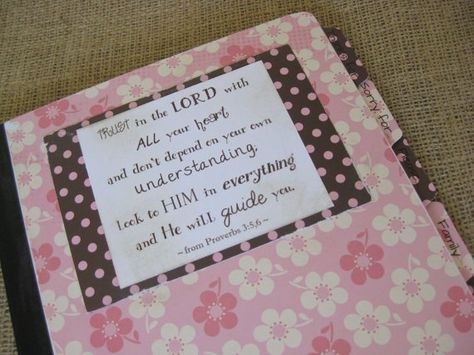 A very detailed prayer journal. I like this! Great idea to get intentional about praying like we are about making sure we're not forgetting something on our schedules.