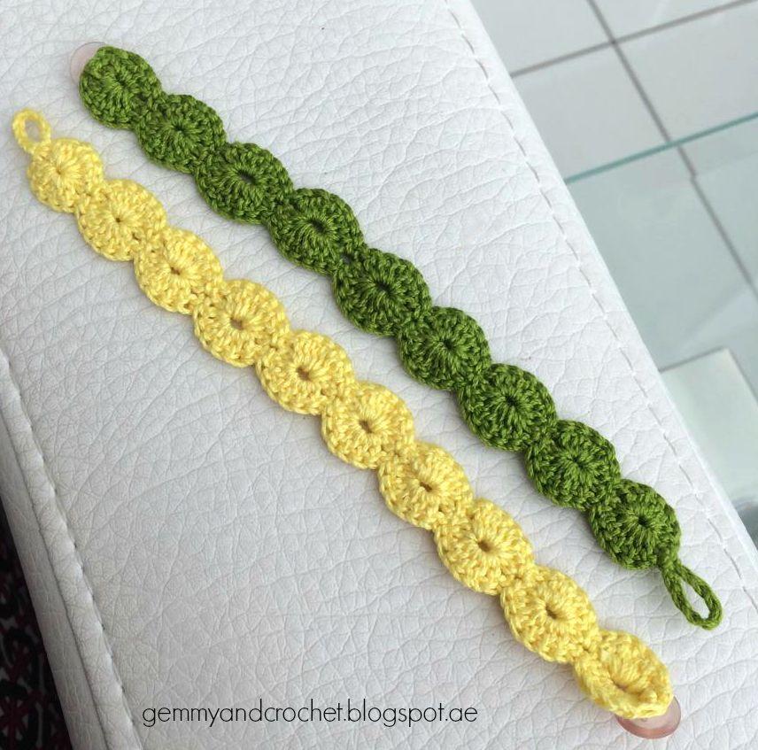back+2.jpg (856×847) | pulseras de crochet | Pinterest | Pulseras ...