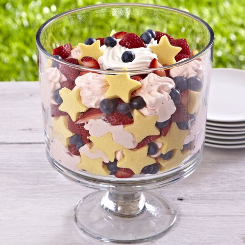 Trifle Bowl Recipes: Pin By Ginny Hagerty On Patriotic Picnic