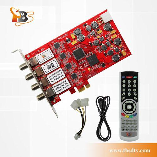 Tbs6985 Dvb S2 Satellite Quad Tuner Digital Tv Card The Successor Of Tbs6984 Digital Tv Tuner Quad