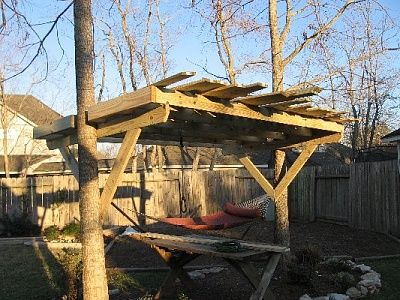 Tree House Plans For Two Trees treehouse between two trees | treehouse | pinterest | treehouse