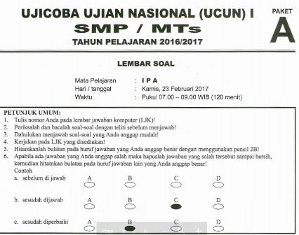 Uji Coba Ujian Nasional Ucun 2017 Kursus Bimbel Online Tangerang Belajar Pembelajaran Kooperatif Matematika Sma