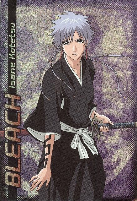 Bleach Isane Kotetsu is the lieutenant of the 4th