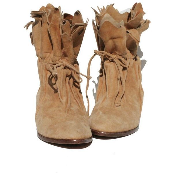 Tan Suede Leather ITALIAN Moccasin size: 7 ($79) ❤ liked on Polyvore featuring shoes, boots, footwear, zapatos, wide shoes, tan suede shoes, mocassin shoes, moccasin shoes and leather sole shoes