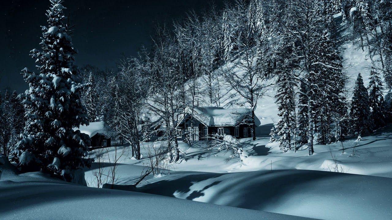 Картинка зима Лес снег деревня сугробы зима