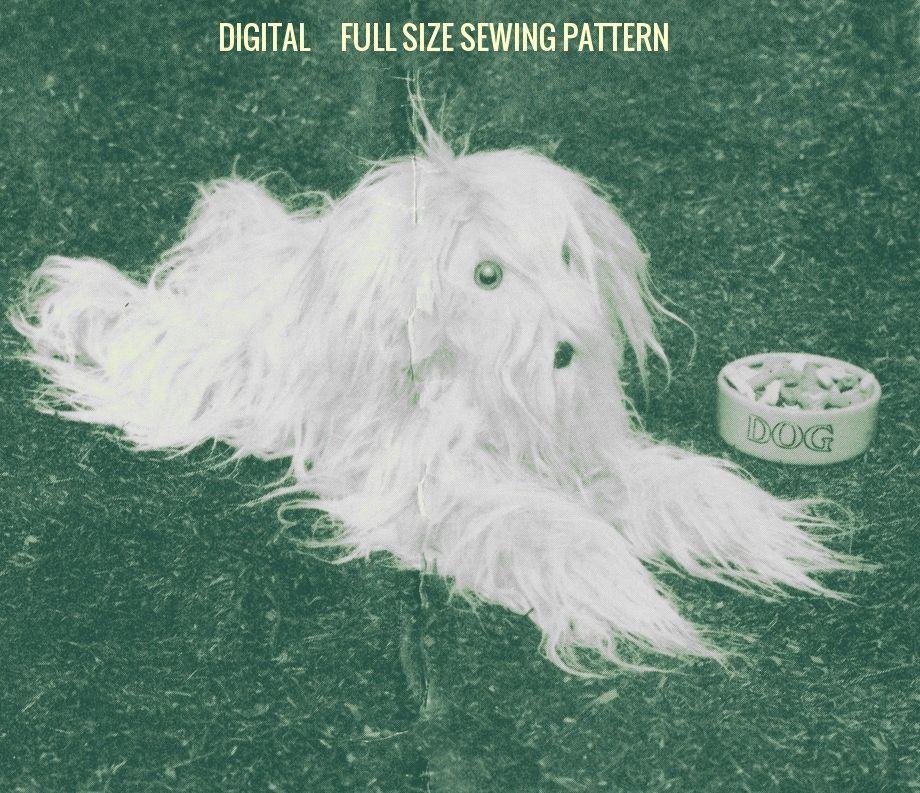 UK Freepost PRINTED Vintage Sewing Pattern A Stuffed Plush Soft Body ...