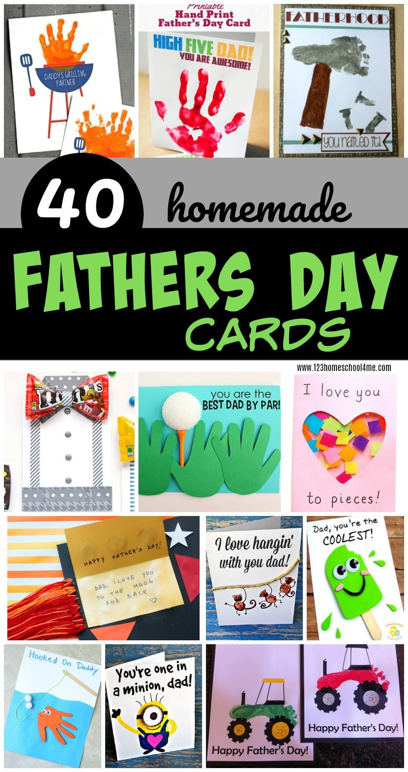 40 homemade fathers day cards homemade fathers day card