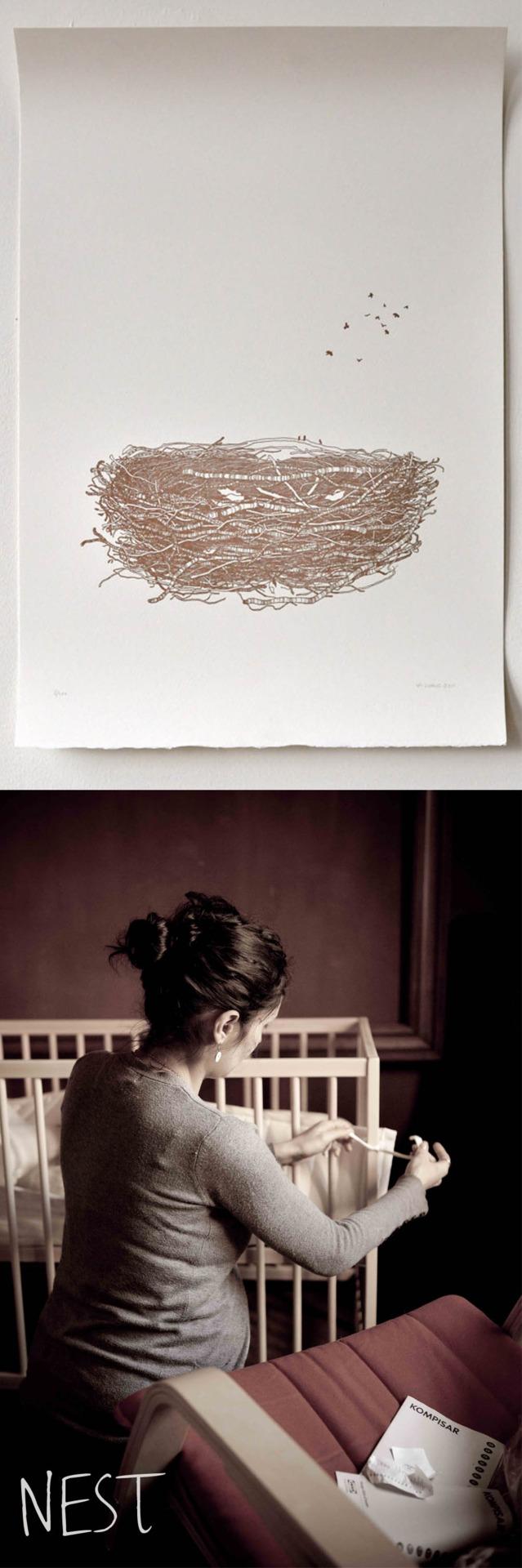 nest - pregnant
