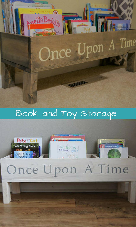 Book Shelf Baby Nursery Bookcase Bin Kids Storage Toy Books Room Affiliate