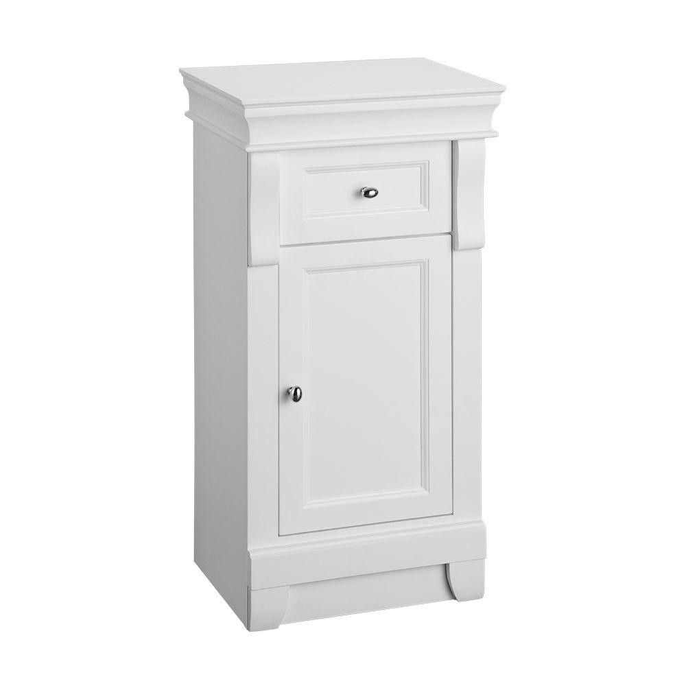 bathroom small floor cabinet cabinets storage for towels white from ...