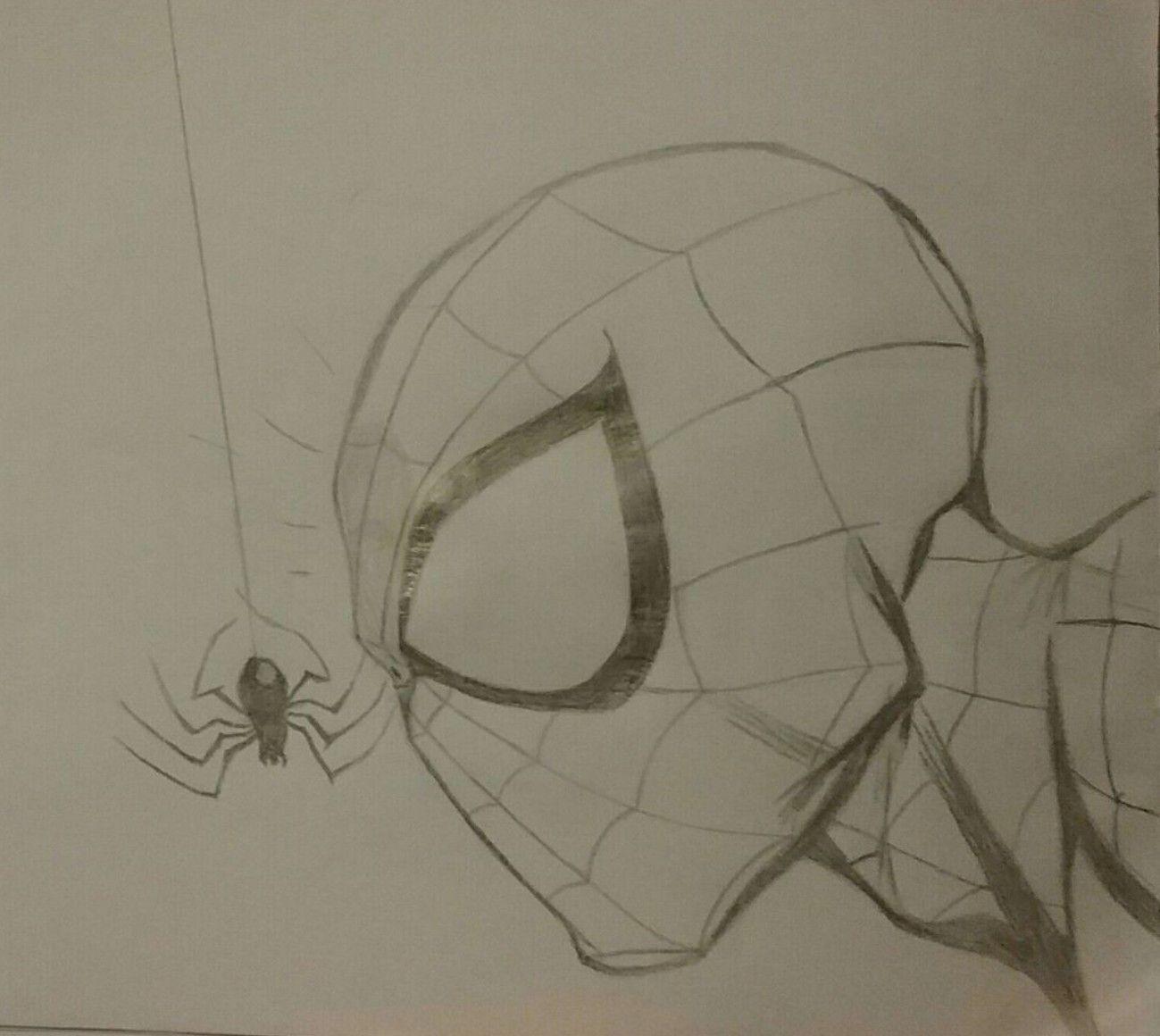 Pin De Frank Chavez Em Spiderman Dibujo Pixar Desenhos Marvel