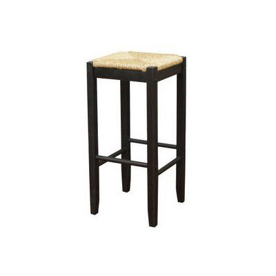 Admirable Ahb Rattan Backless Bar Stool Set Of 2 129883Blk Theyellowbook Wood Chair Design Ideas Theyellowbookinfo