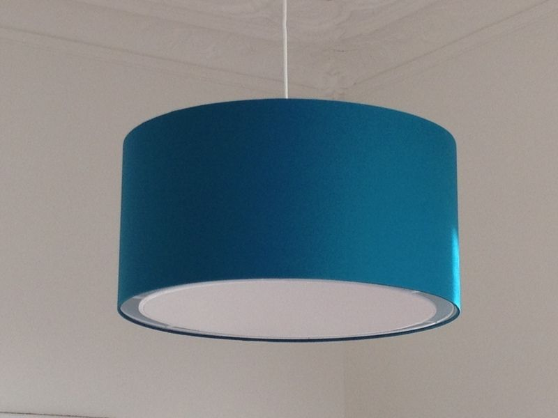 Lampenschirm Schlafzimmer ~ Lampenschirm cm petrol petrol lampenschirme und dawanda