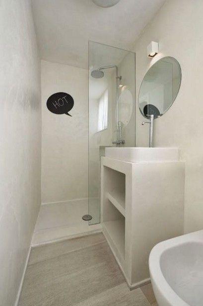 cuarto-baño-pequeño-blanco.jpg (409×616)  baño ...
