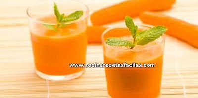 Receta de jugo casero para la gastritis