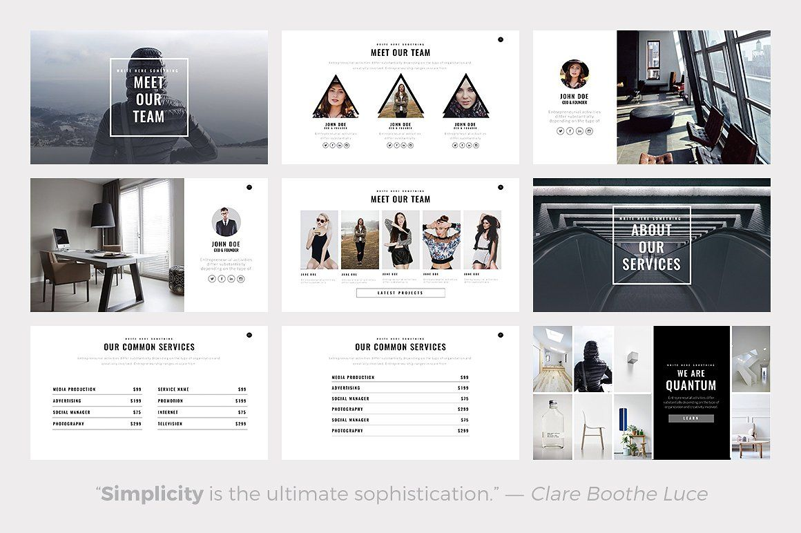 Quantum minimal powerpoint template template quantum minimal powerpoint template toneelgroepblik Gallery