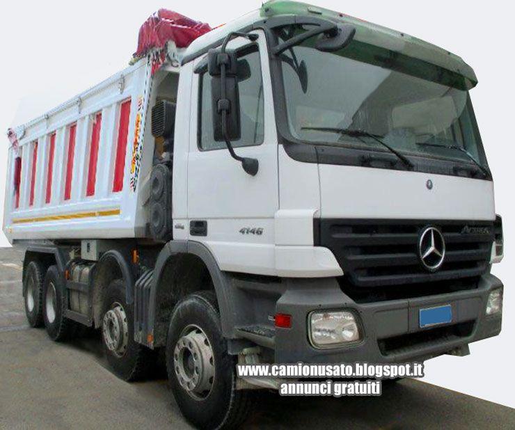 camion usati e mezzi industriali mercedes benz actros