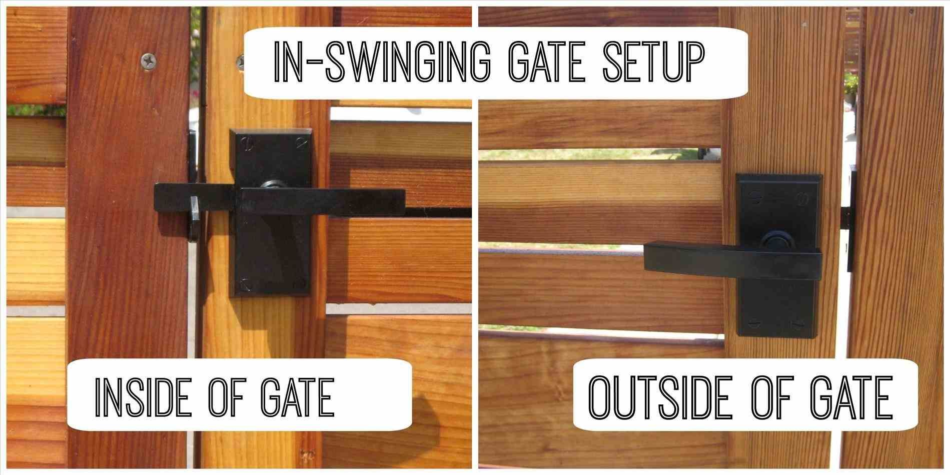 Wood Latch Lowes Ideas Hardware Double Ideas Wood Fence